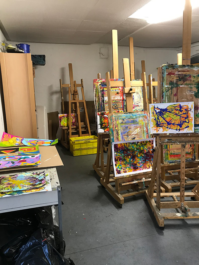 Kunstraum68 Atelier von Elena Büchel
